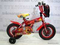 Sepeda Anak Wimcycle Cars 12 Inci
