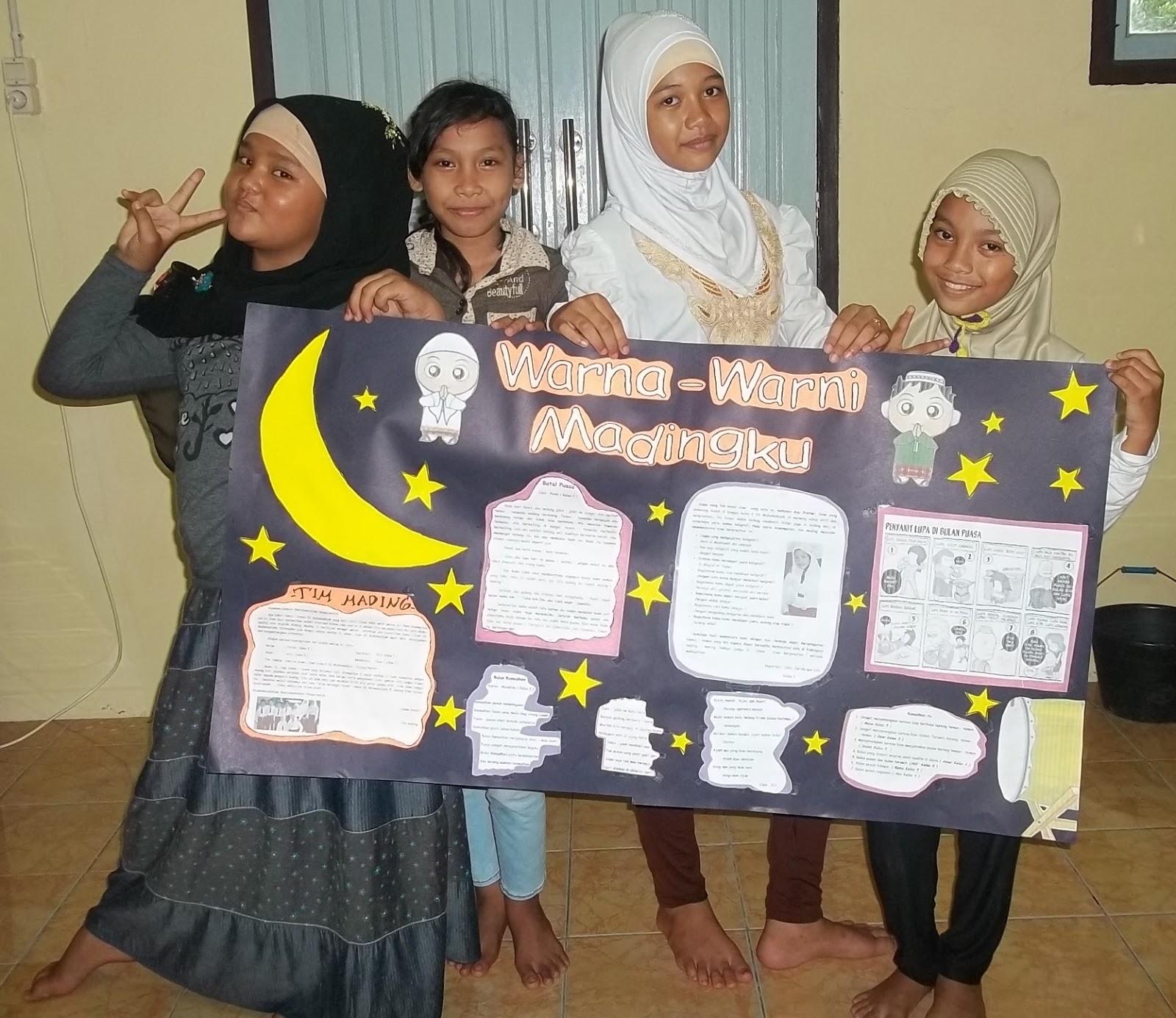 Indah, Farida, Ayu dan Siti
