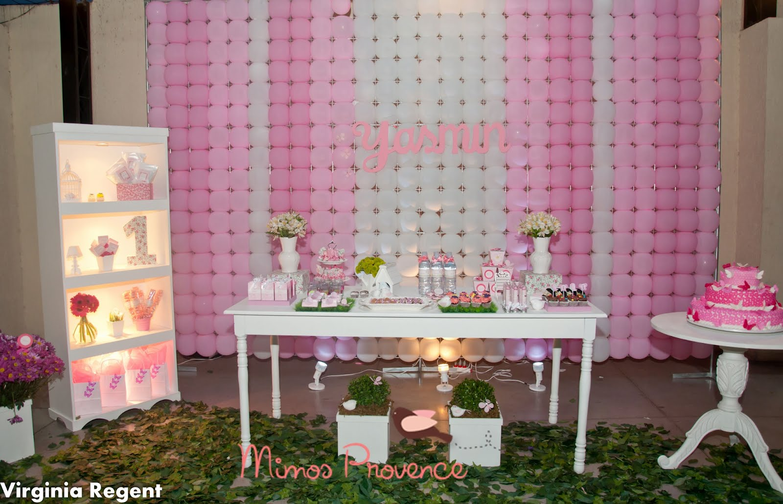 Mimos Provence festa Jardim Cor de rosa