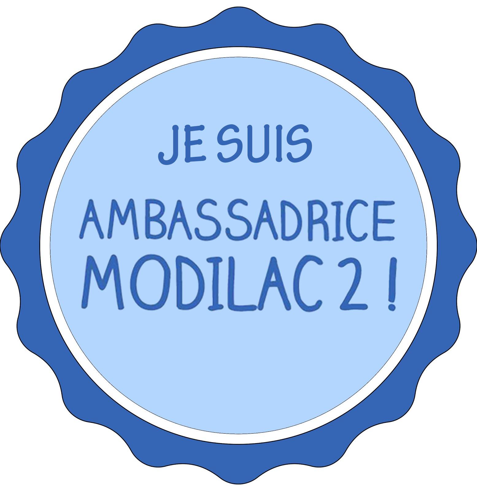 Je suis Ambassadrice Modilac