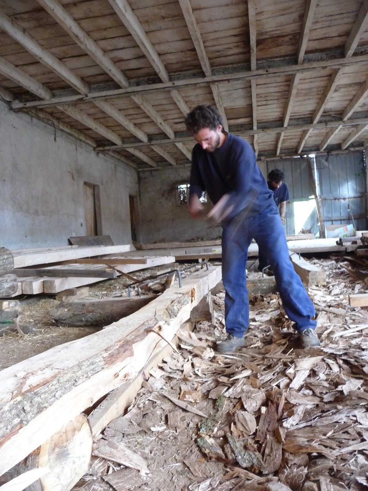 Artisanat fabien construction d 39 une maison en ossature for Soubassement d une maison