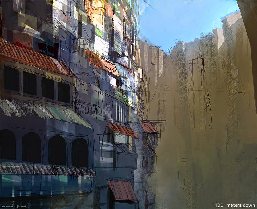 PELIK 5 Gambar Kota Ganjil Wujud Dalam Kawah Gunung Berapi