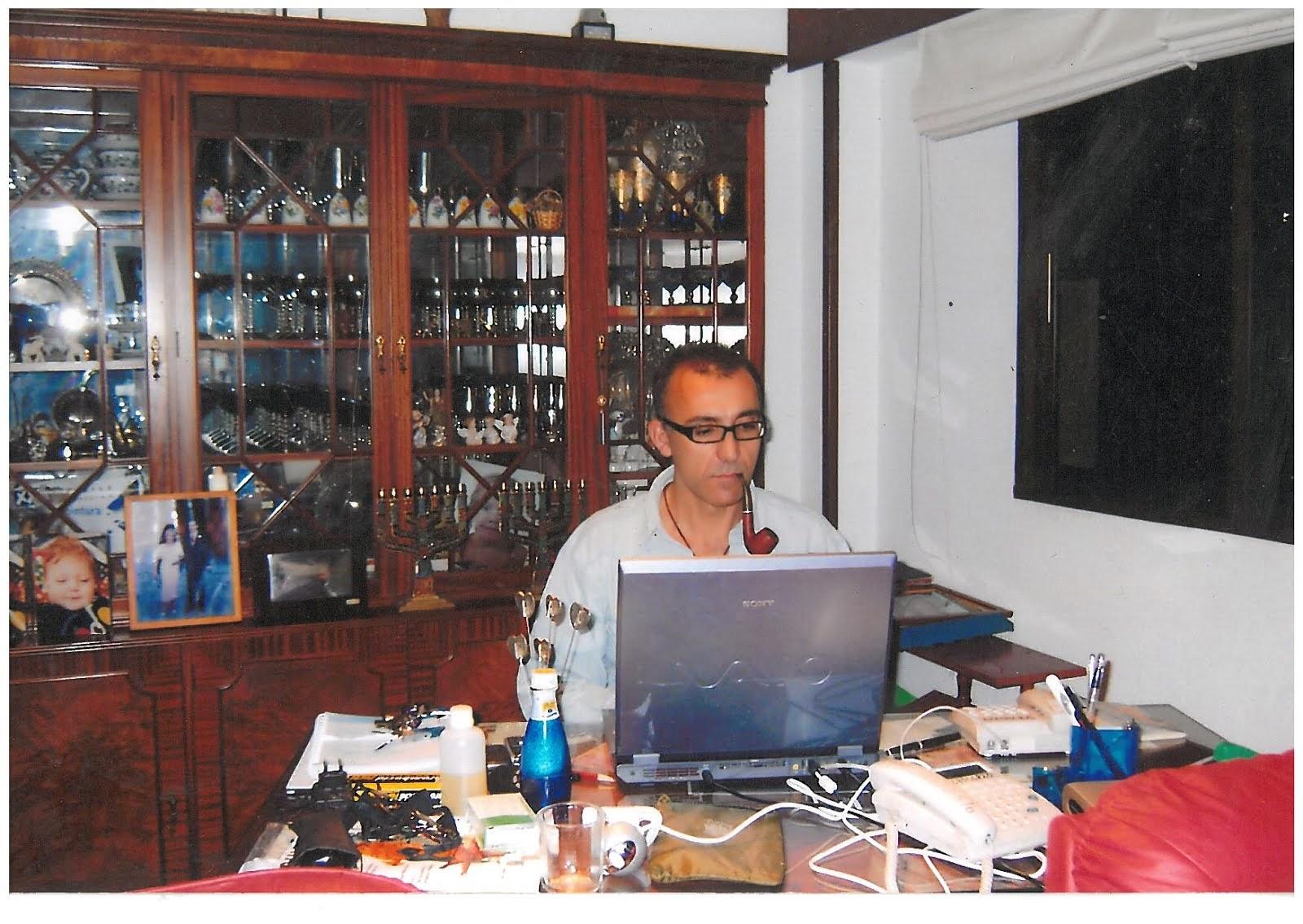 El autor del blog.