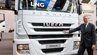 videos de camiones iveco stralis LNG gas natural 1