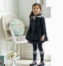 Anak kecil cantik bergaya ala korea