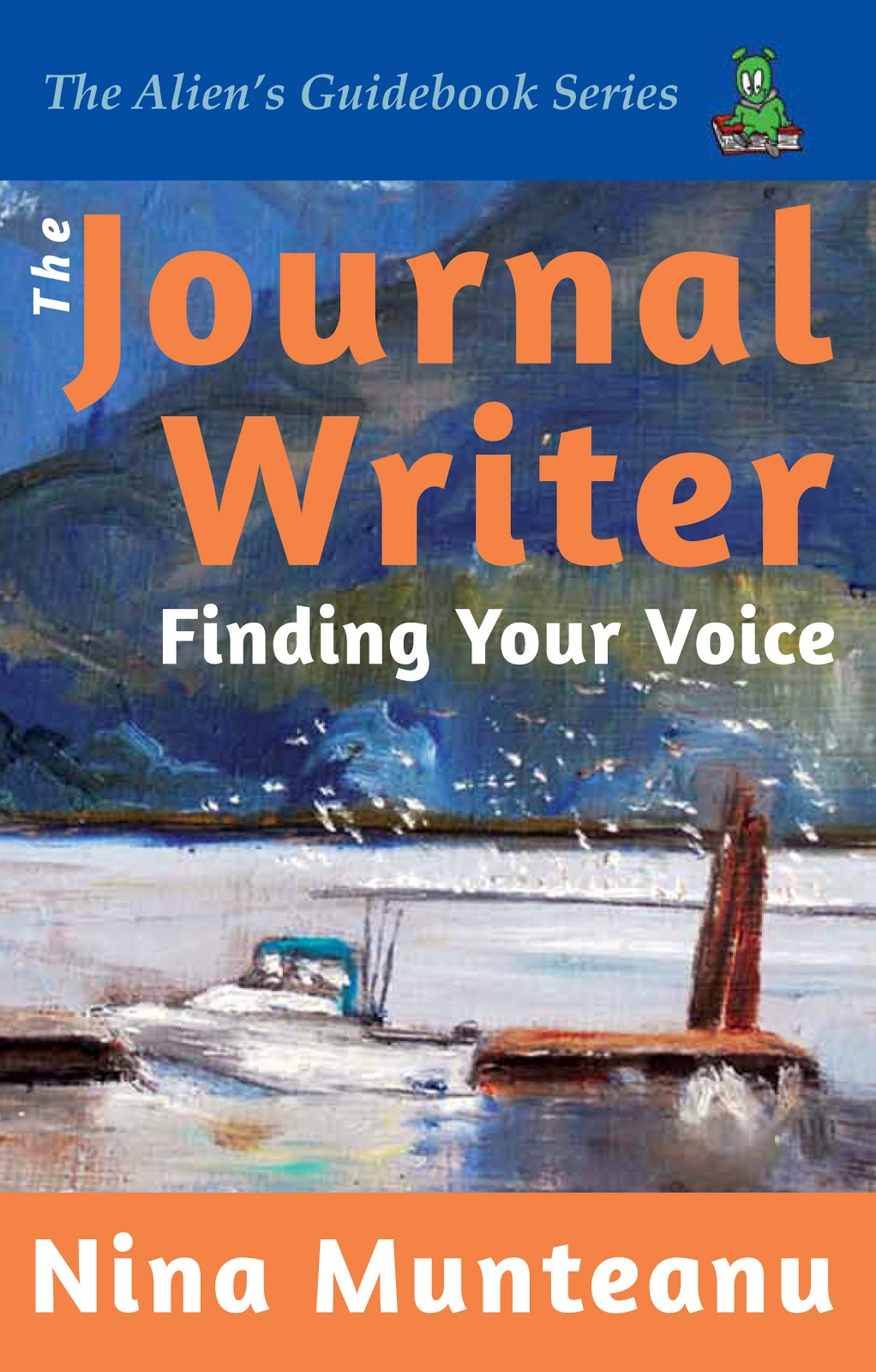 Journal+Writer FRONT cover WEB The Journal Writer by Nina Munteanu Now Out!