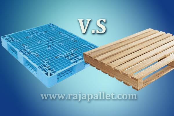 Pallet Plastik lebih murah dari pallet kayu