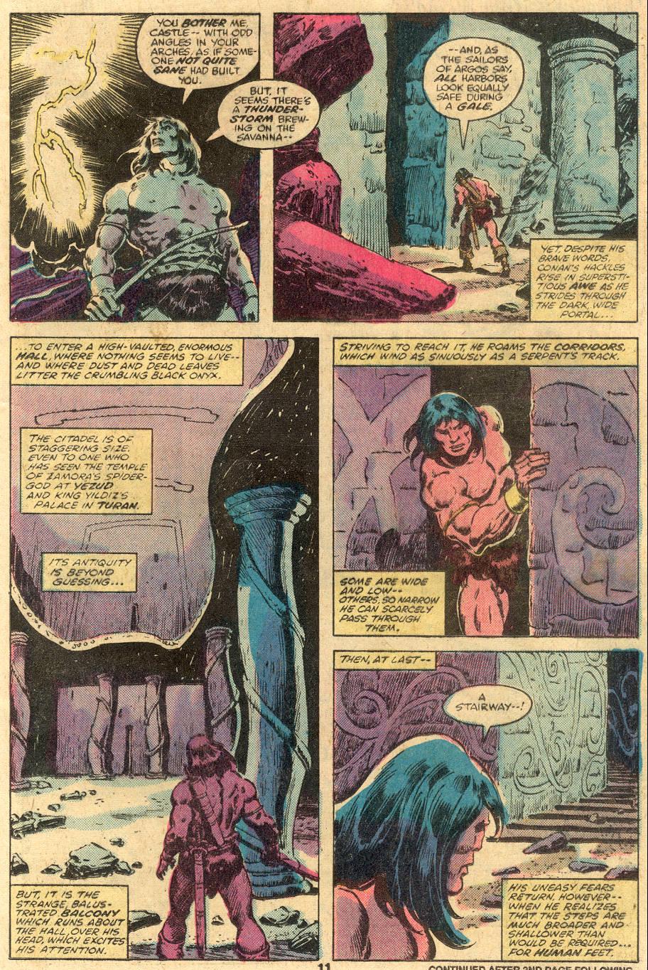Conan the Barbarian (1970) Issue #105 #117 - English 9