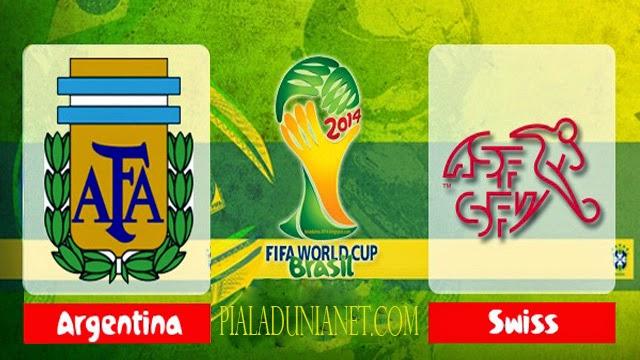 Prediksi Skor Argentina Vs Swiss 1 Juli 2014 Piala Dunia