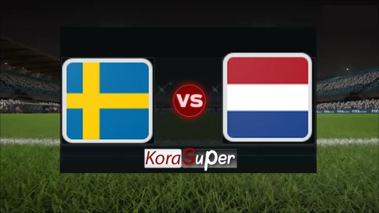 مشاهدة مباراة هولندا والسويد بث مباشر 03-07-2019