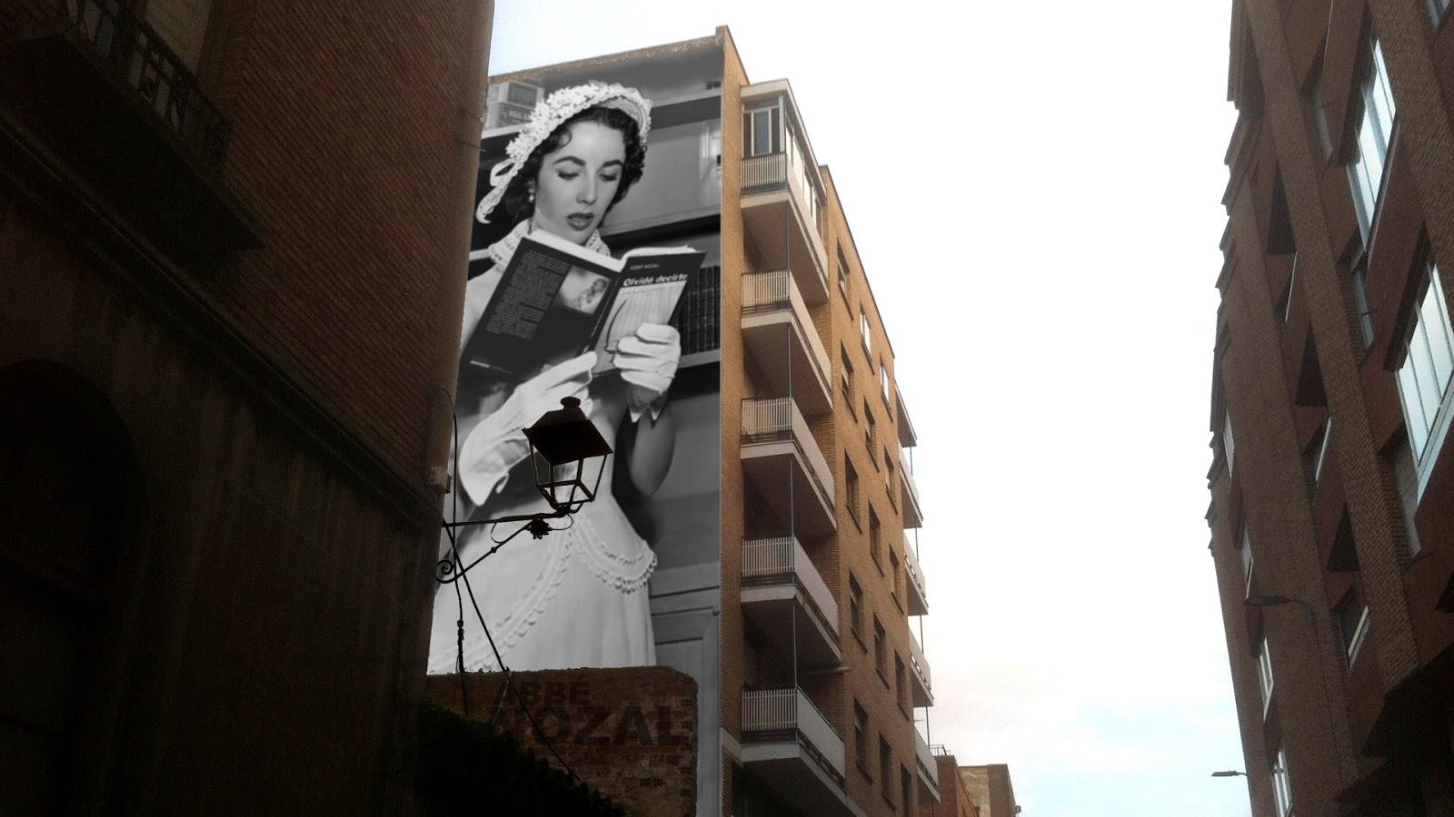 Leyendo en la calle, 2014 Abbé Nozal