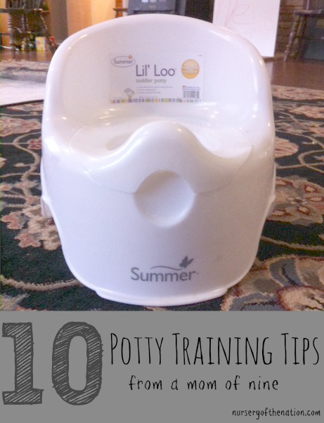 Ten Potty Training Tips
