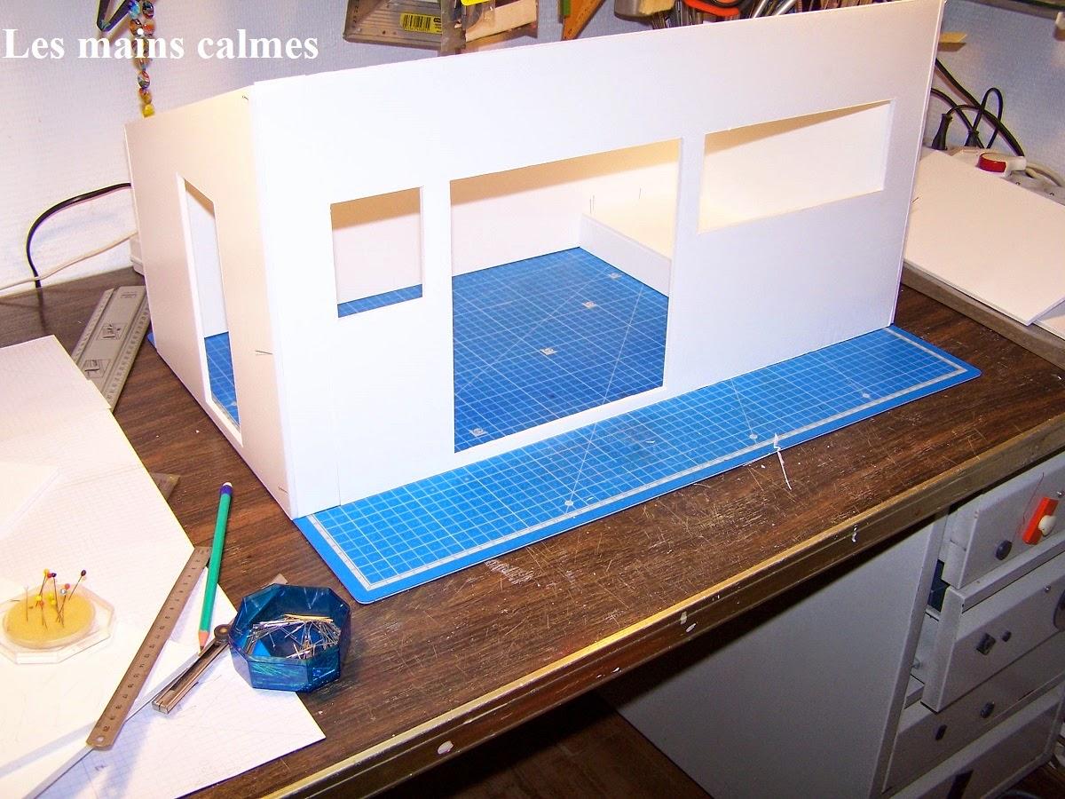 Les mains calmes: construction de la chambre des bébés