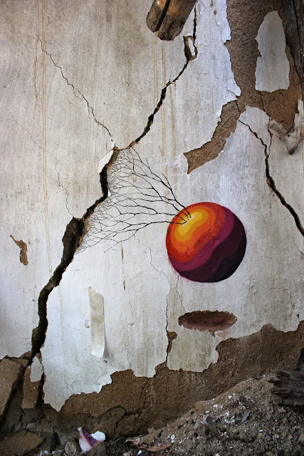 Street Art By Pablo S. Herrero and E1000 In The Pizarrales District Of Salamanca, Spain. 6