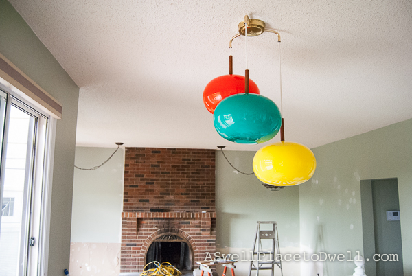 Retro Lights In the Kitchen