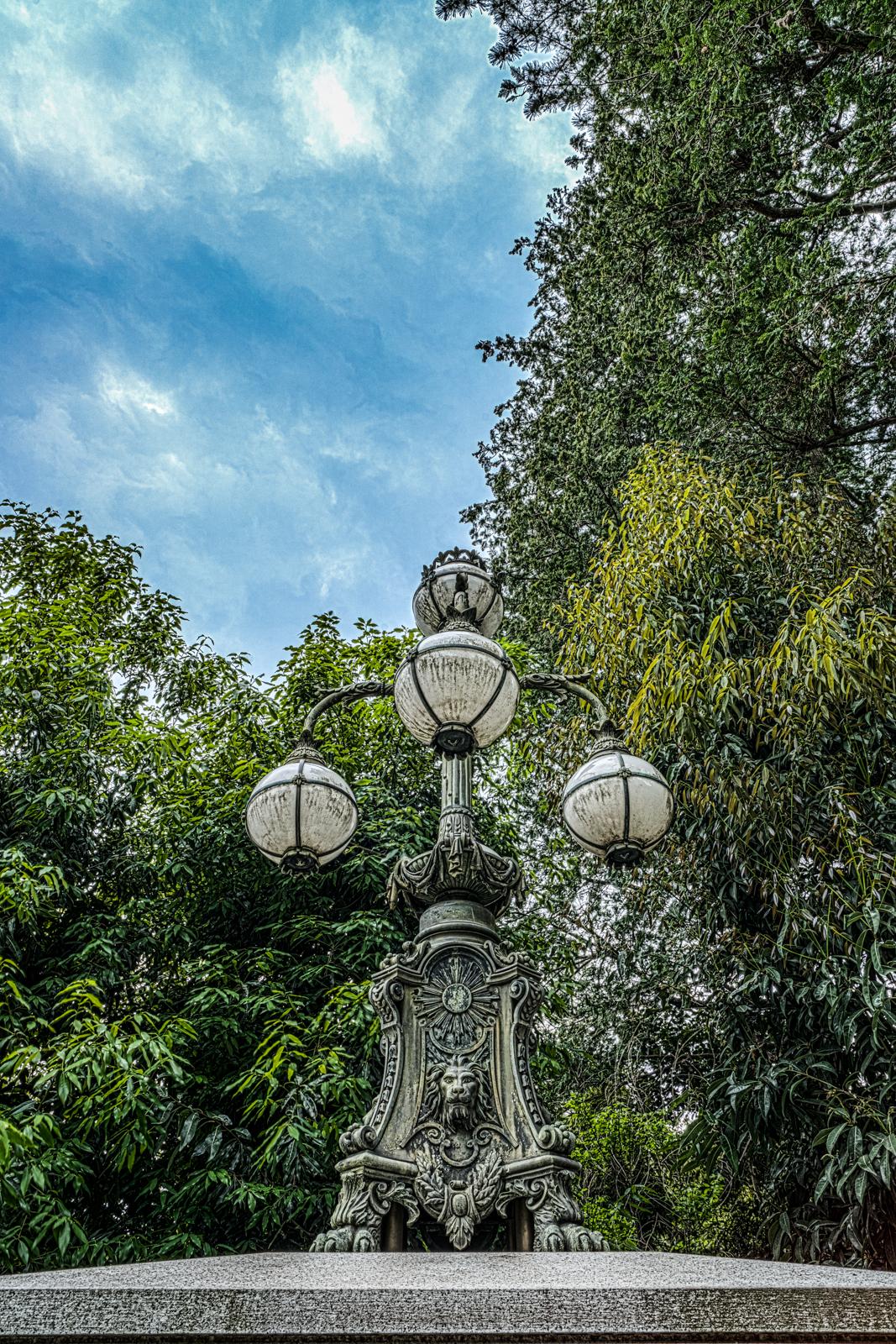 江戸東京たてもの園、飾電燈