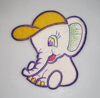 Elefántos hímzés