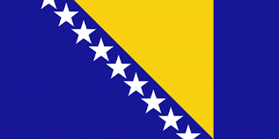 Download Bosnia and Herzegovina Flag Free