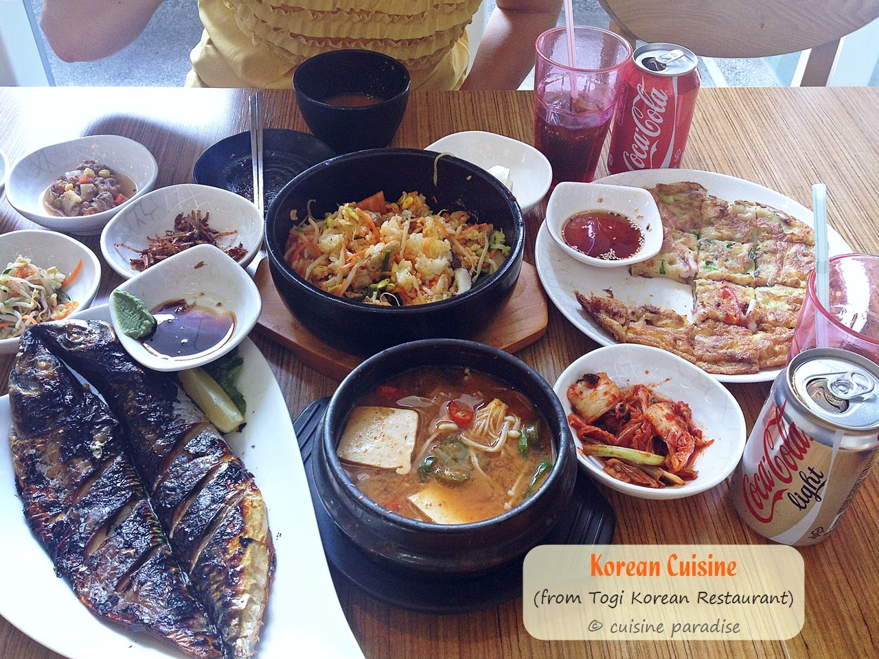 Cuisine paradise singapore food blog recipes reviews and travel authentic korean cuisine forumfinder Image collections