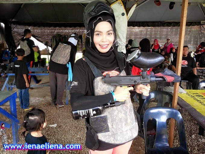 Paintball Captain Attack - KBBA Blogger's Day Out