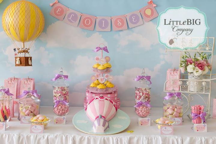 Little big company the blog party planning tips styling tips some d - Table deco anniversaire ...