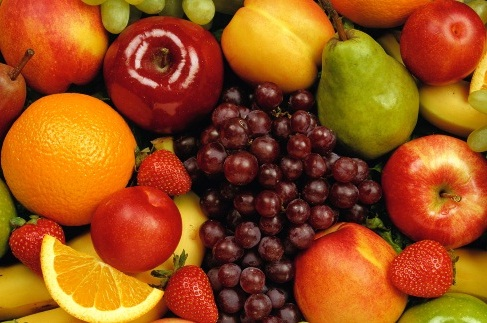 fresh and healthy nutritious fruits