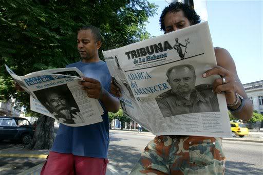 Cuba quiere cambios en su prensa oficial