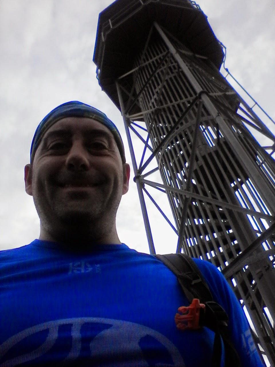 Torre Vigía, Serralada de la Marina,  Badalona