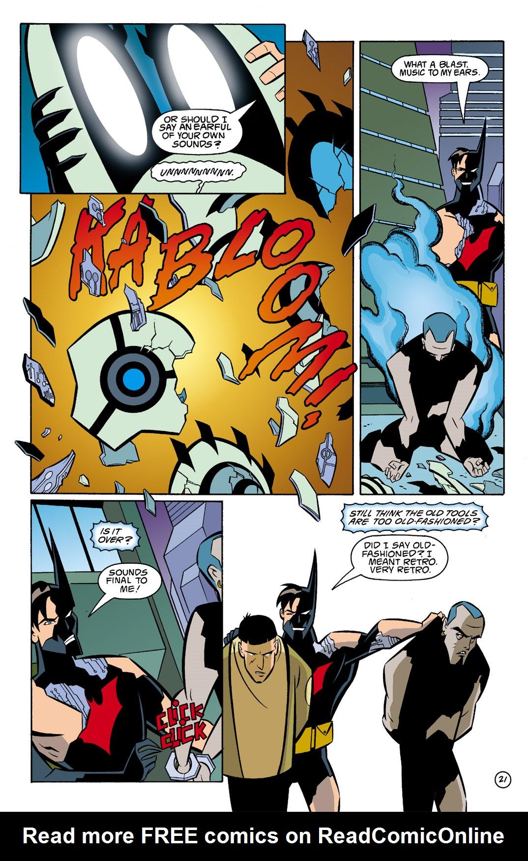 Batman Beyond [II] Issue #5 #5 - English 22