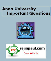 Anna University Nov Dec 2014 Important Questions