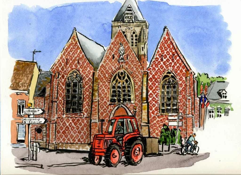 Hallekerque en Flandre