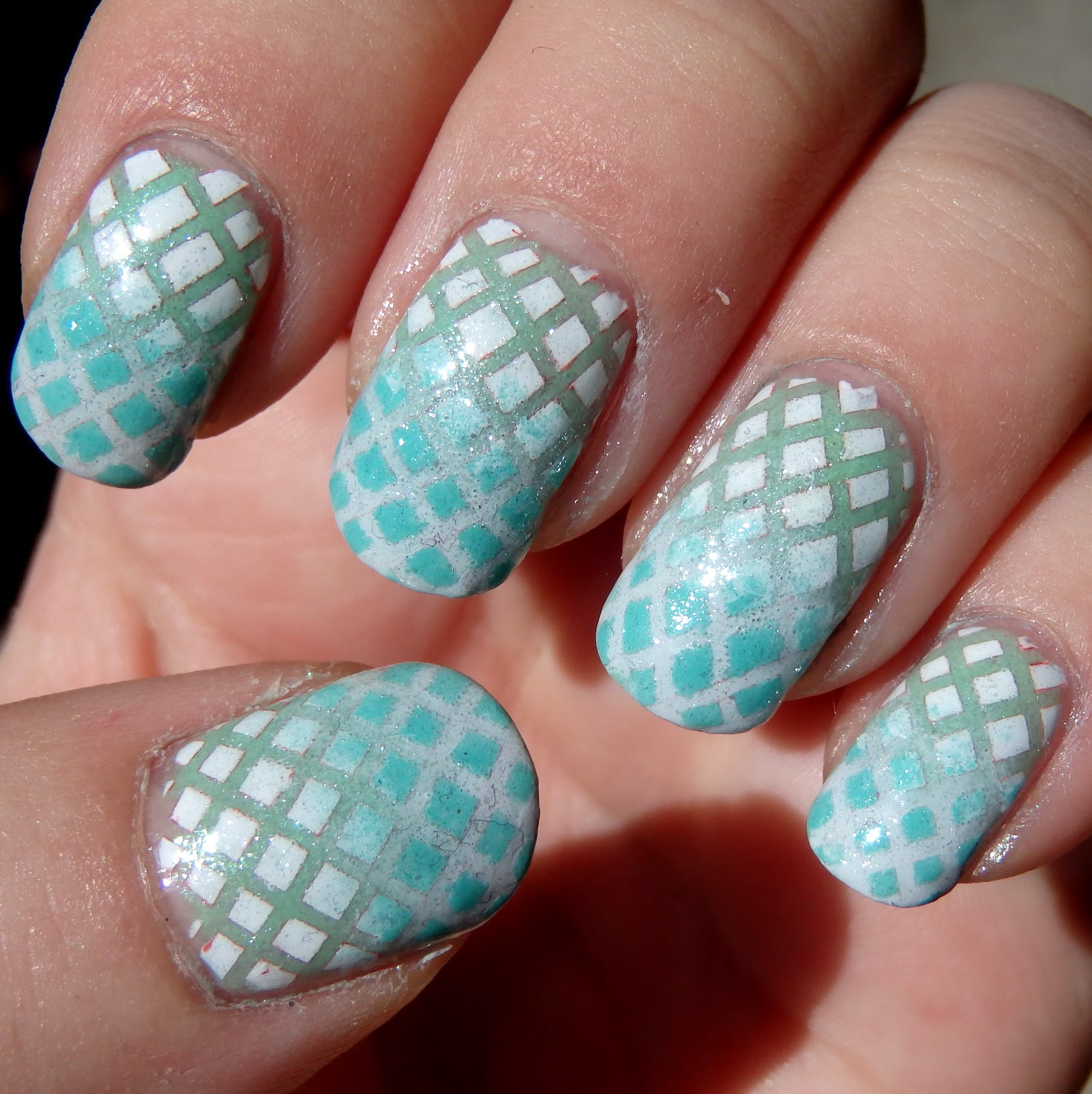 I Don T Actually Have A Lot To Say For This Nail Art Started With Grant From Lynbdesigns Oobleck Opi My Boyfriend Scales Walls Then Put Down
