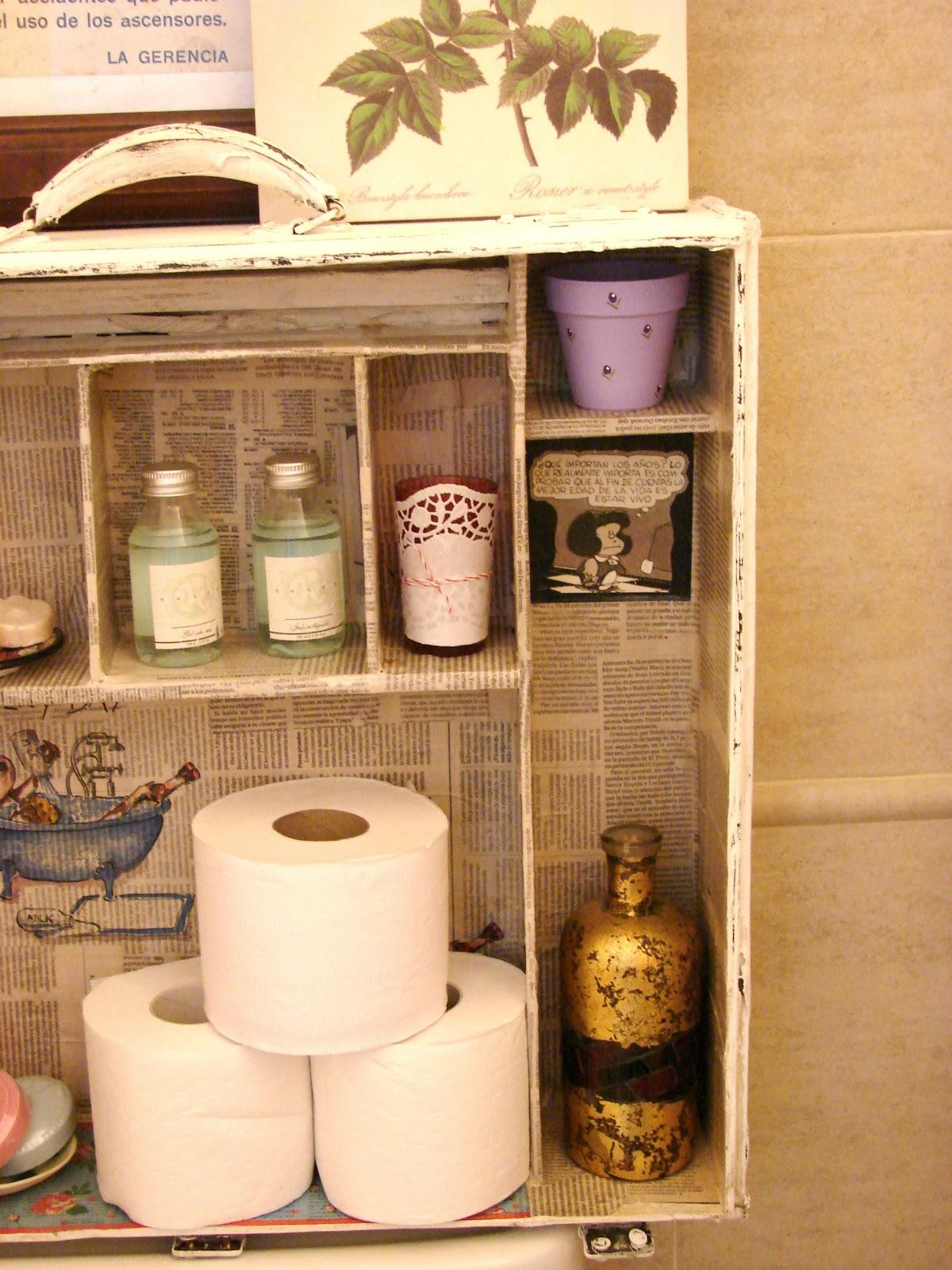 Mueble para ba o sobre inodoro for Muebles para bano hechos en casa