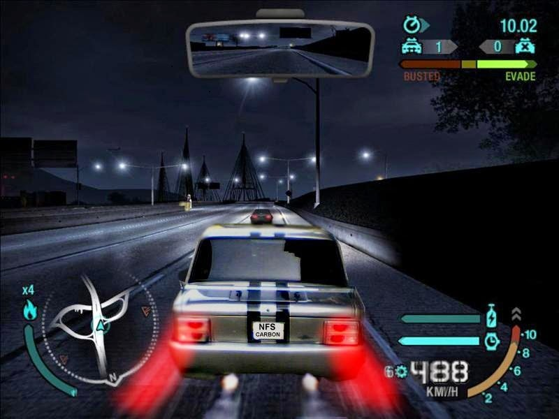 NFS Carbon game for PC
