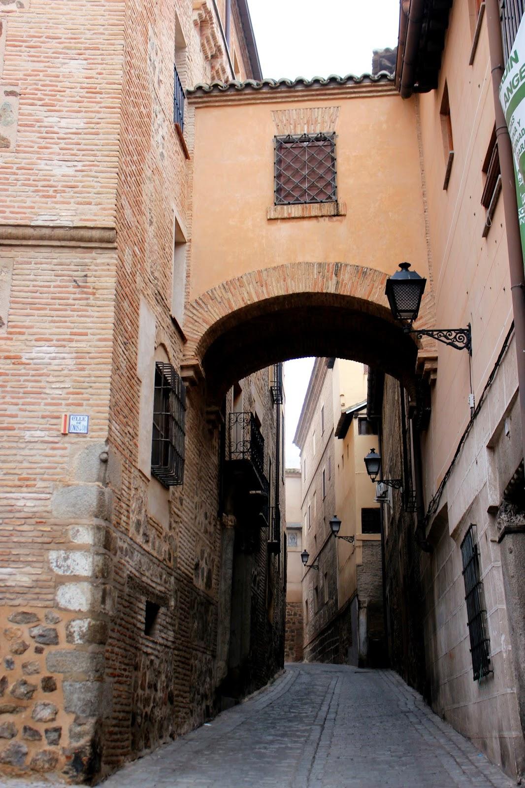 Calle del Ángel en Toledo