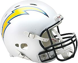 The Nfl Report Top 10 Helmet Designs San Diego Chargers