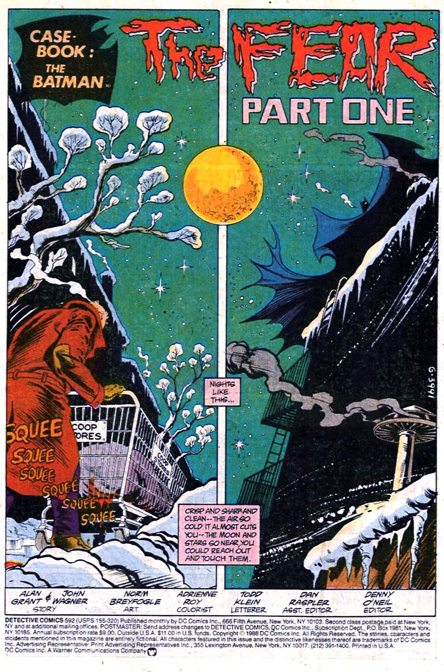 Detective Comics (1937) 592 Page 2
