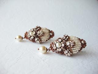 suured kõrvarõngad pruudi ehted pulmad pärlid ehtekivid kristallid