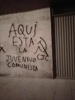 Agitación comunista en las calles de Salamanca.  IMG-20111025-00264