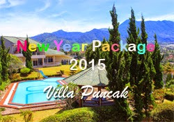 Rate New Year Package Puncak Villas