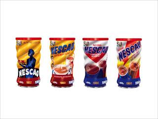 Nestlé reedita latas antigas de Nescau