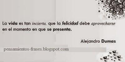 Frases de Alexandre Dumas