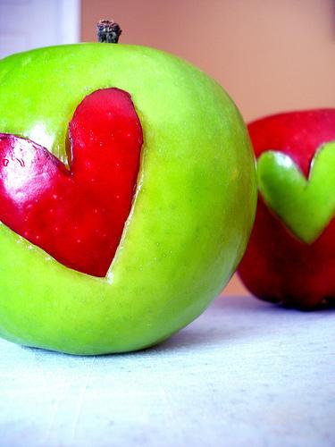 decoracion manzana