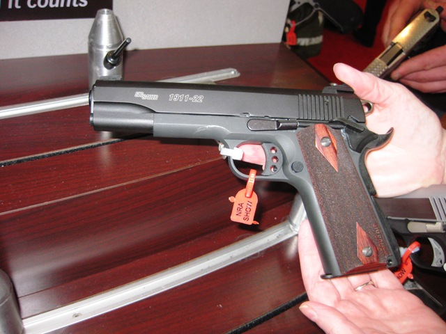 Labels: Browning 1911-22 , NRA Annual Meeting 2011 , SigSauer 1911-22