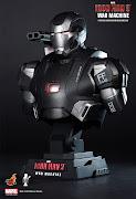 PreorderHot Toys Iron Man 3 War Machine 1/4th scale Bust HTB10 (ht iron man war machine bust )