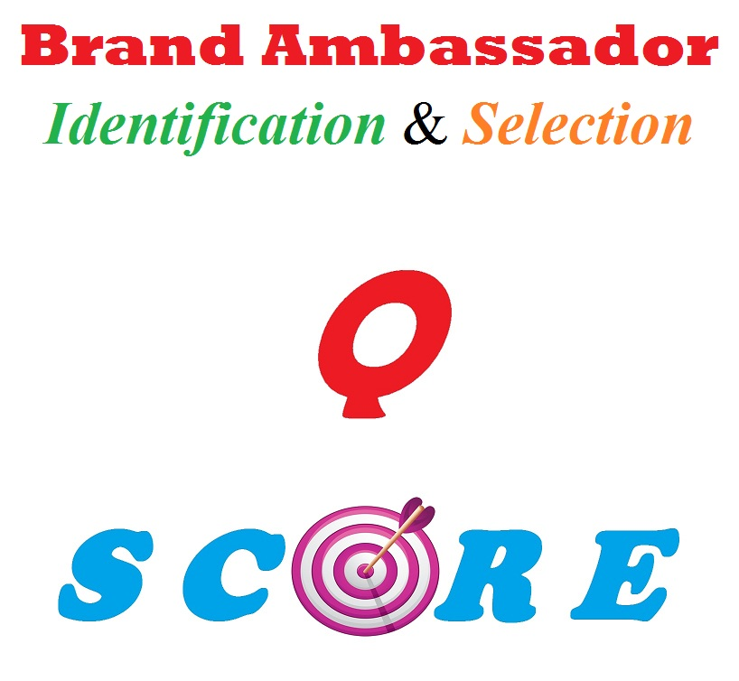 brand ambassador identification and selection by Q score method
