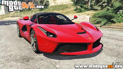 V - Ferrari LaFerrari 2015 v0.5 para GTA V PC