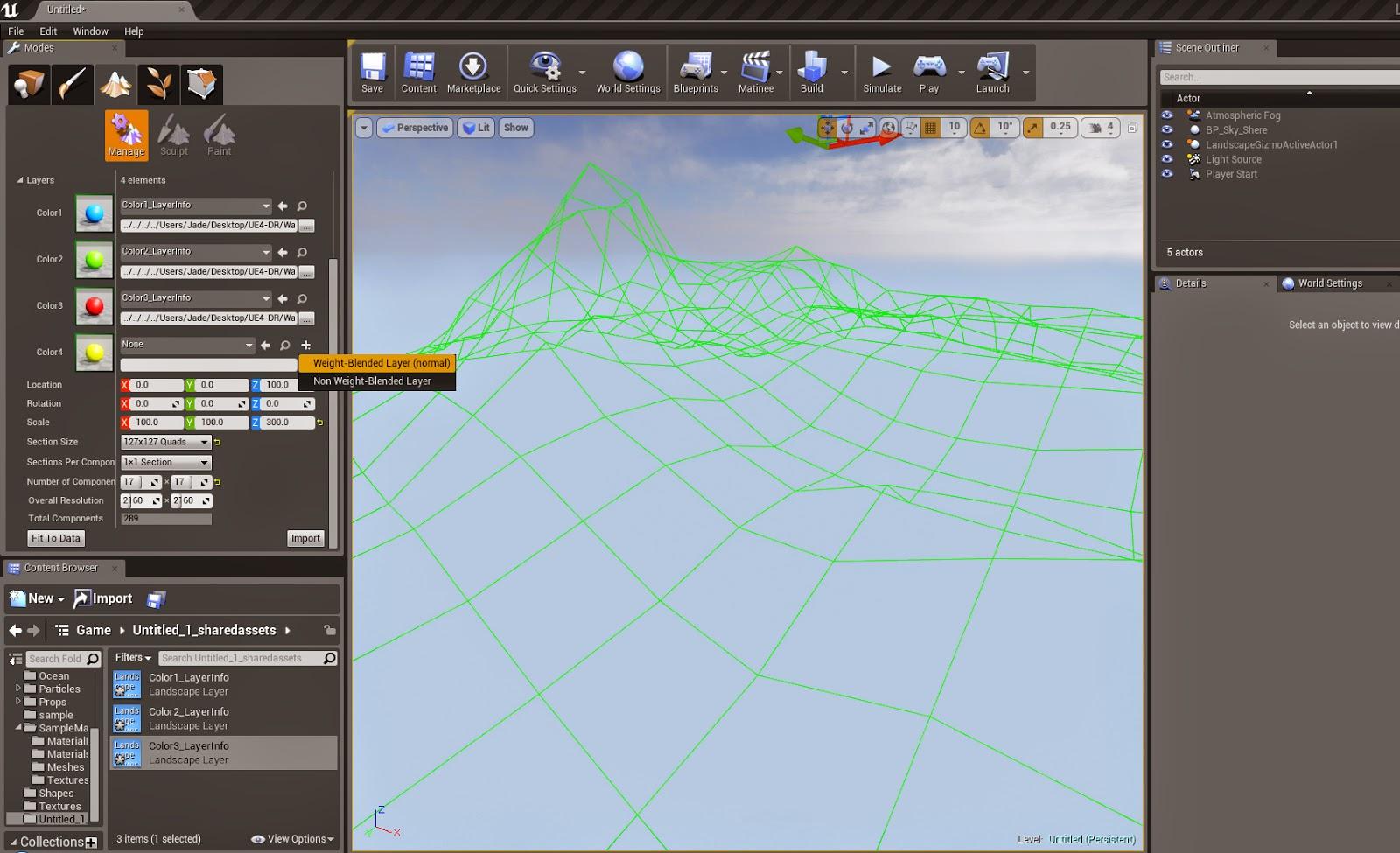 Heightmap import