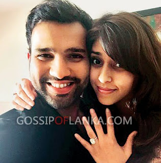 Mumbai Indians' skipper Rohit Sharma Gets Engaged to Best Friend Ritika Sajdeh