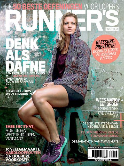Athletes, @ Dafne Schippers - Runner's World Nederland, December 2015